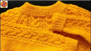 Knitting Baby Sweater D-212 (हिंदी) Jasbir Creations