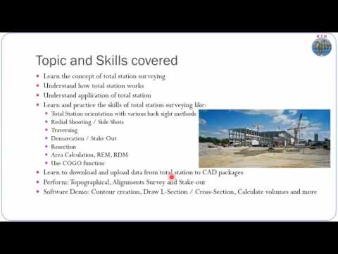 Total Station Training - YouTube