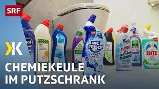 Reiniger im Test: Die Chemiekeule im Putzschrank   2019   SRF Kassensturz