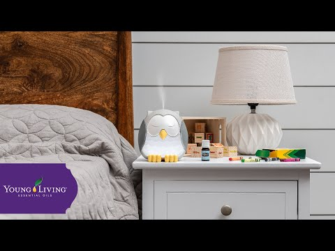 Feather the Owl Kids Ultrasonic Diffuser | Young Living Essential Oils