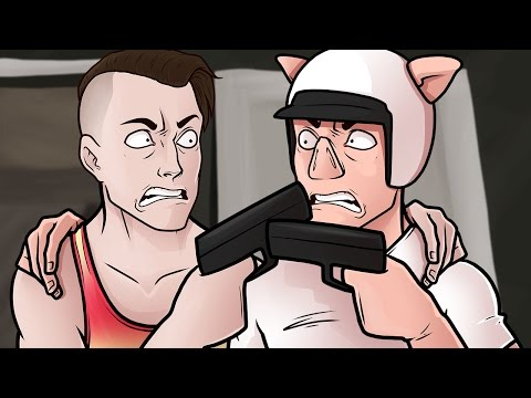 GTA 5 Fun - Every Bullet Counts Rage! (Grand Theft Auto V Funny Moments and Fails)