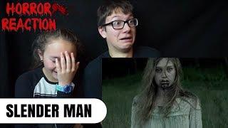 SLENDER MAN Official Trailer Reaction!!!