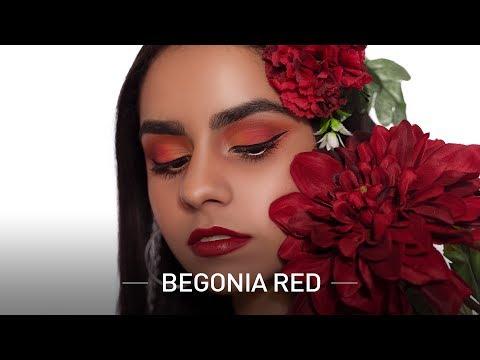 Begonia Reds with Resham