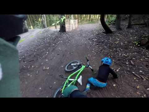 Bikepark Klíny 2019 Zelená