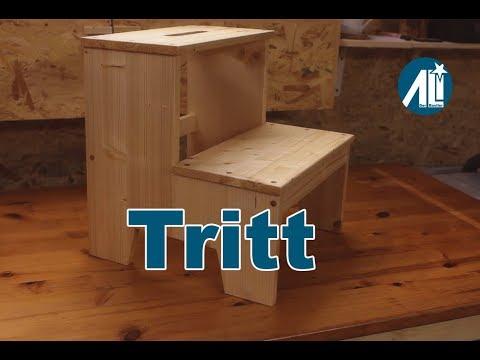 ✅ Tritt im Eigenbau (DIY Step Stool)