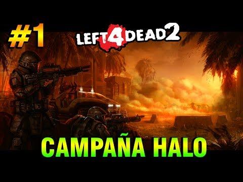 Left 4 Dead 2 - Halo Mods - смотреть онлайн на Hah Life
