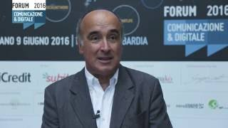 Youtube: Intervista a Sandro De Poli | General Electric | Forum della Comunicazione 2016