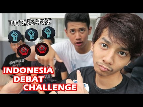 INDONESIA DEBAT CHALLENGE - THE RESISTANCE GAME (18+) WARNING Parental Advisory Needed!