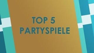 Top 5 Brettspiele für Partys