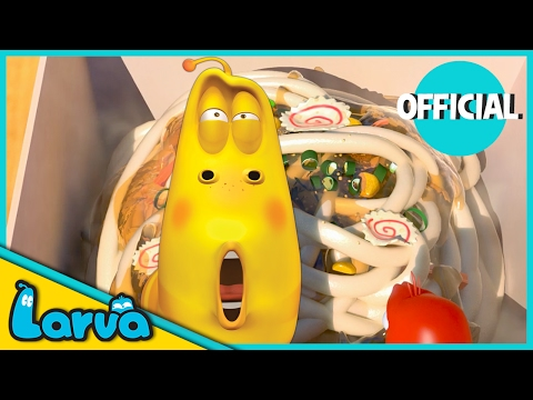LARVA - CUP OF NOODLES | Best Cartoon Movie | Cartoons For Children | LARVA Official
