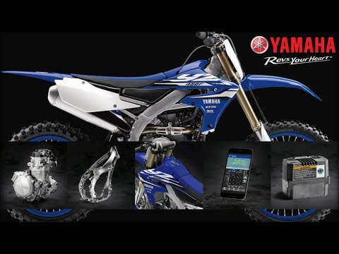 2018 Yamaha YZ450F in Wilkes Barre, Pennsylvania - Video 1