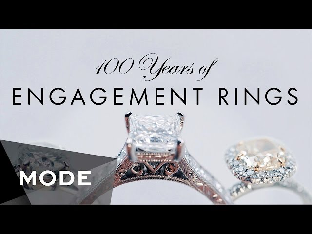 Mode Just Released A Video Chronicling Century S Worth Of The Most Por Engagement Ring Styles By Decade