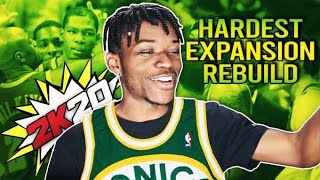 The HARDEST Expansion Rebuilding Challenge in NBA 2K20
