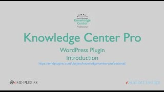 Knowledge Center Pro WordPress Plugin – Introduction