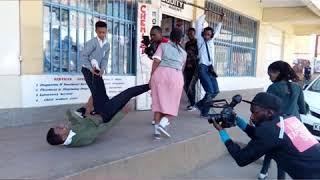 Junior Ktn Show... Bihinde The Scenes \- Siendi Shellee!!!!