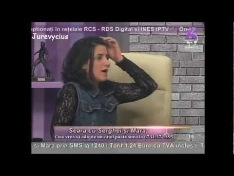 Seara cu Serghei si Mara - Marius Marinescu si Paula Iacob (20 martie 2012) 6TV part.2