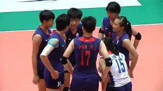 HL  SMM 12th Asian Est Cola Women's U17 Volleyball Championship / TPE - HKG - Video Youtube