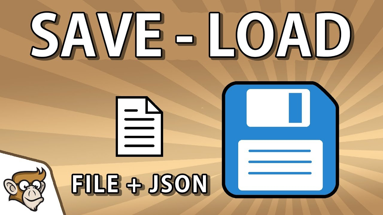 Simple Saving and Loading with JSON to a File (Unity Tutorial for Beginners)