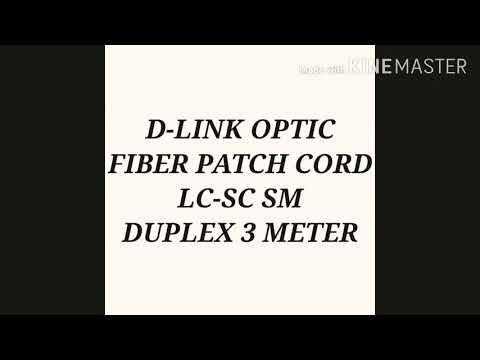 D-LINK Fiber  Patch Cord SC /PC to LC/PC 3mtr  Single mode Duplex
