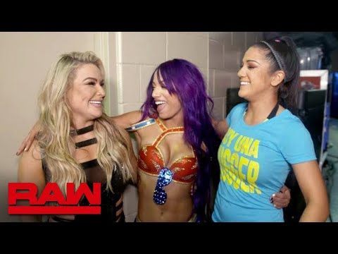 Why the Raw Women's division needed Sasha Banks: Raw Exclusive, Oct. 15, 2018