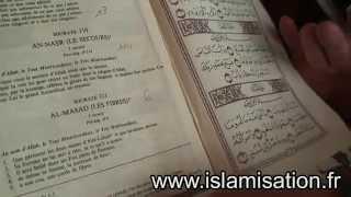 Les 3 visages du Coran: origines, construction et remaniements d