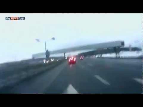 صور لتحطم الطائرة الروسية