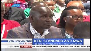 Mwandishi wa Standard Group Mercy Kahenda atuzwa, juhudi za Standard zilileta mabadiliko