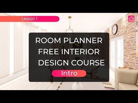 Room planner. Free interior design course. Lesson 1. Intro - YouTube