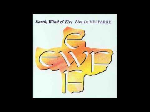 Earth, Wind & Fire - Can't hide love (live)
