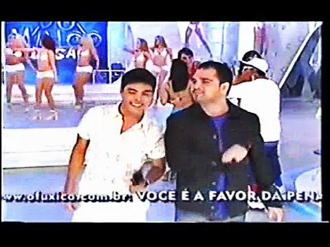 Zezé Di Camargo e Luciano - Antes De Voltar Pra Casa {No Domingo Legal} (2002)