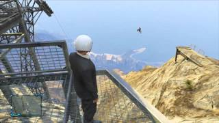GTA 5 Online Motor Bike Stunts & Tricks Monatge Minecraft Server