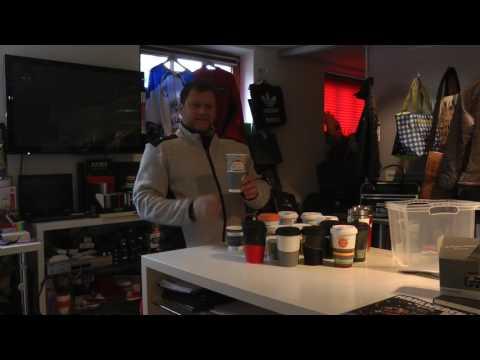 Coffee to go Becher Mehrwegbecher bedrucken