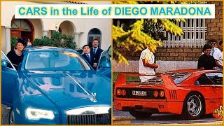 Diego Maradona & the Cars in his Life.