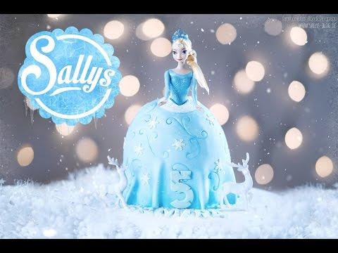 Frozen Elsa Torte / Barbie Torte / Geburtstagstorte / Sallys Welt