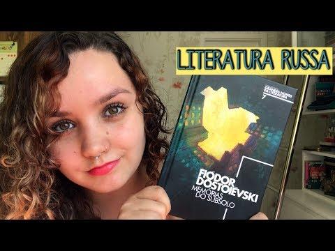 Resenha #63 Memórias do subsolo, de Fiodór Dostoievski | O primeiro de muitos russos de 2018!