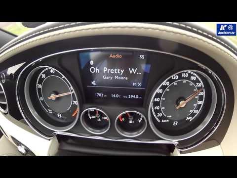 2013 Bentley Continental GTC W12 0-250 kmh / 0-180 mph