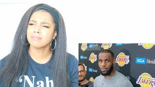 REPORTERS ASKING NBA PLAYERS STUPID QUESTIONS PART 2 | Reaction