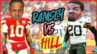 Tyreek HIll vs Jalen Ramsey HEATED Week 1 NFL Matchup! (Madden 20 User Skills Challenge Ep.1)