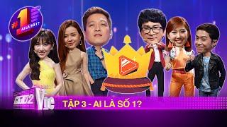 Tập 3: Hương Ly, Cris Phan, Trường Giang, Midu, Hari Won hội tụ đi tìm YouTuber số 1 | AI LÀ SỐ 1?