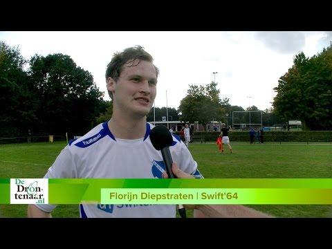 VIDEO | Swift'64 kijkt na 8-0 zege op Wilsum vooral naar de derby tegen Reaal Dronten