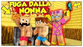 LA NONNA DI LUCA CI VUOLE UCCIDERE! - Minecraft ITA