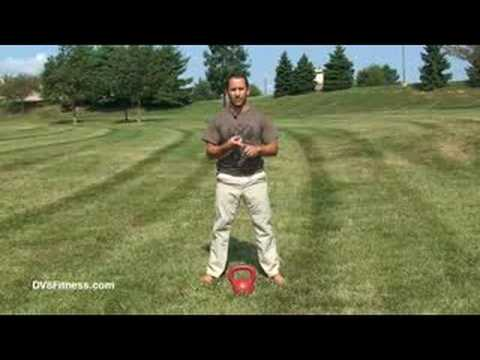 Kettlebell Two Arm Overhead Swing