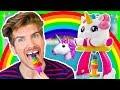 Download Youtube: RAINBOW UNICORN ICE CREAM MAKER! | Joey Graceffa