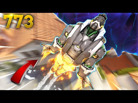 BOB Becomes A Rocket!! | Overwatch Daily Moments Ep.773 (Funny and Random Moments)