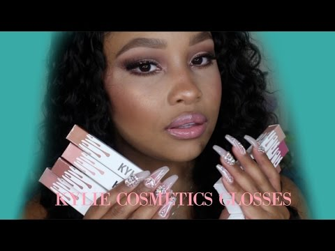 Kylie Cosmetics Gloss Review & Swatches (Whole Collection)