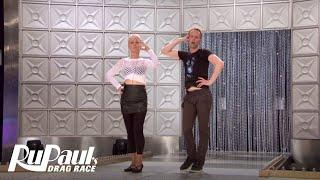 Is Katya's Mom a Voguing Natural? | RuPaul's Drag Race All Stars (Season 2 Ep 7) Bonus Clip | Logo
