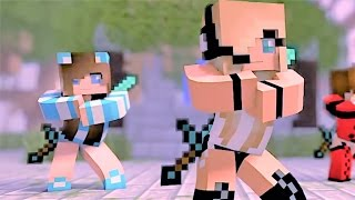 """Minecraft Songs and Minecrafts Animation """"Boys Cant Beat Me"""" Psycho Girl 2 - Top Minecraft Songs"""