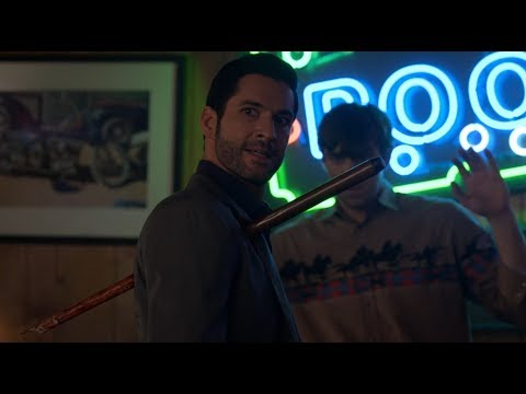 Lucifer bar fight scene - Lucifer S04E04