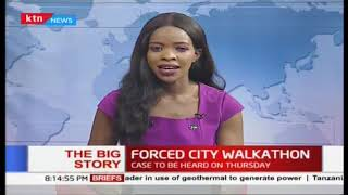 Forced City Walkathon: Commuters suffer as ban on matatus from CBD enforced  The Big Story Part 1