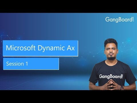 What is Microsoft Dynamics AX | Scope | Roles and ... - YouTube